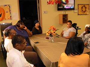 Residents gather for thanks
